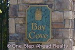 sign for Bay Cove