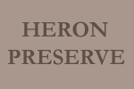 sign for Heron Preserve