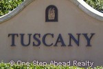 sign for Tuscany