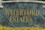 sign for Waterford Estates
